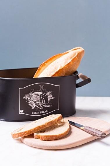 Arma House Siyah Rengi Kesme Tahtalı Ekmeklik Siyah